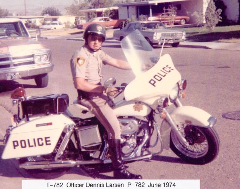 Tipo clásico de vestimenta de policía