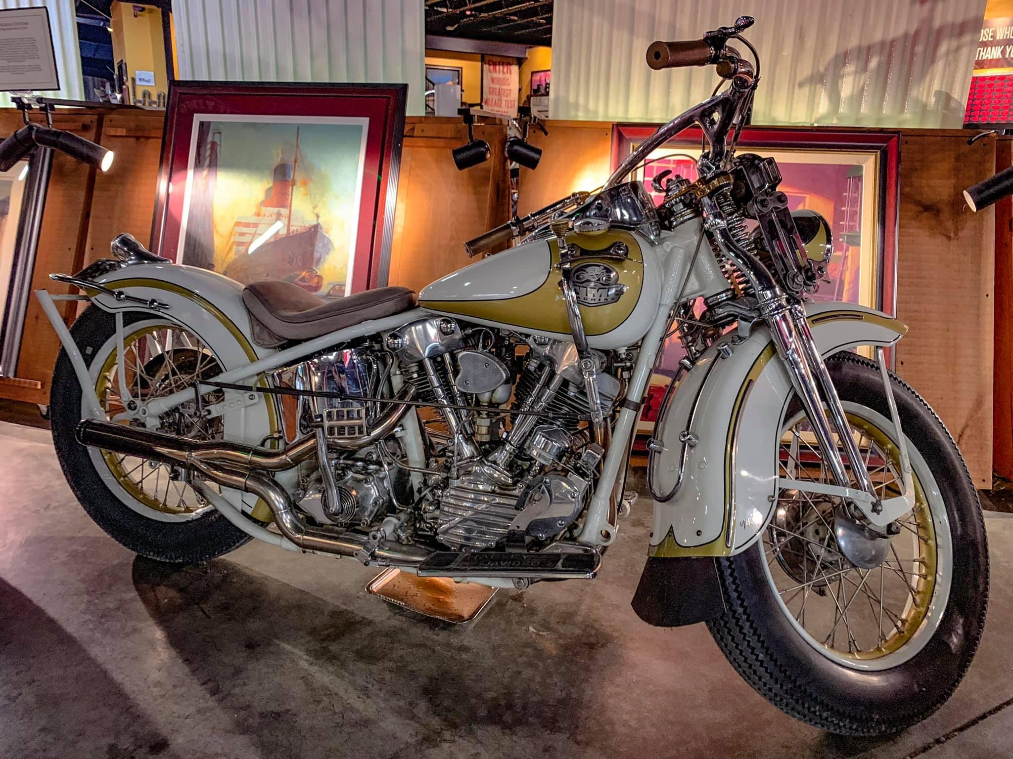 motores Knucklehead de Harley Davidson