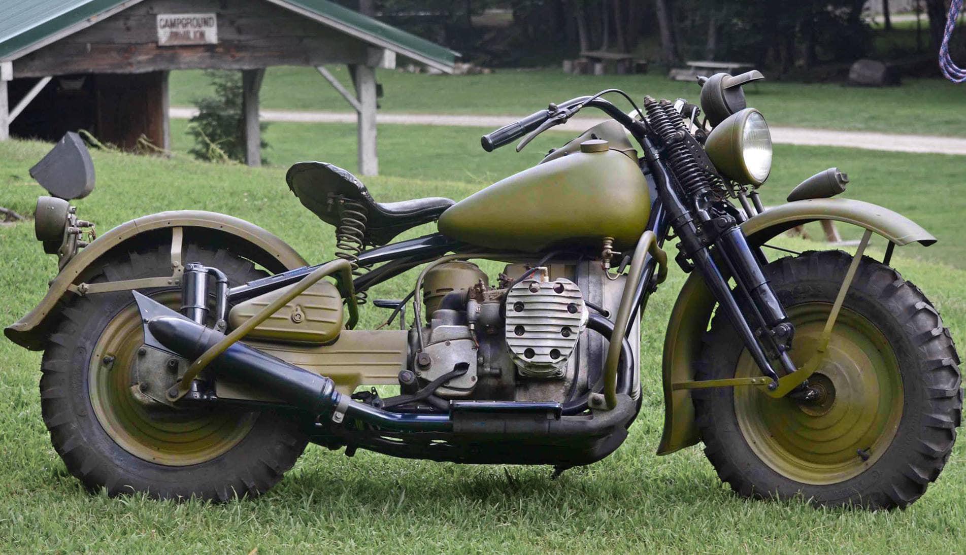 Modelo XA de los motores Knucklehead de Harley Davidson
