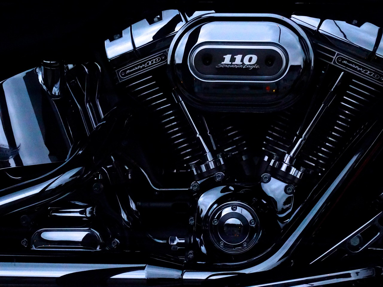 Screamin eagle de Harley Davidson
