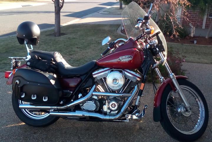 Harley Davidson Evolution Super Glide
