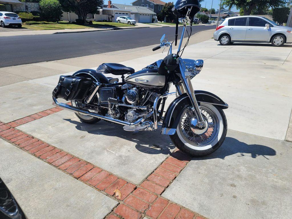 Motor Shovelhead Harley Davidson